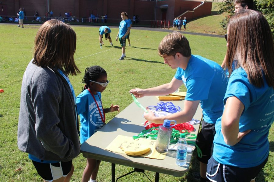 NHS Assists at Annual Junior Olympics