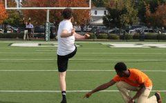 Romero Wins Pass-Kick Contest