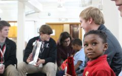 Rocks Share Spirit of the Season with Community Catholic