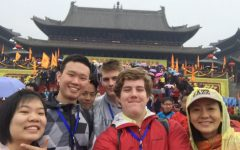 Trinity Senior Sends Spring Break Postcard from China