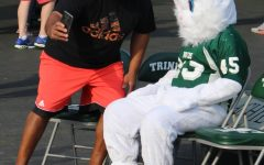Easter Bunny Visits Trinity During Inaugural Egg Hunt