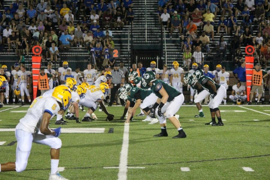 The Rocks, here against Carmel, have seven out-of-state teams on this year's schedule.