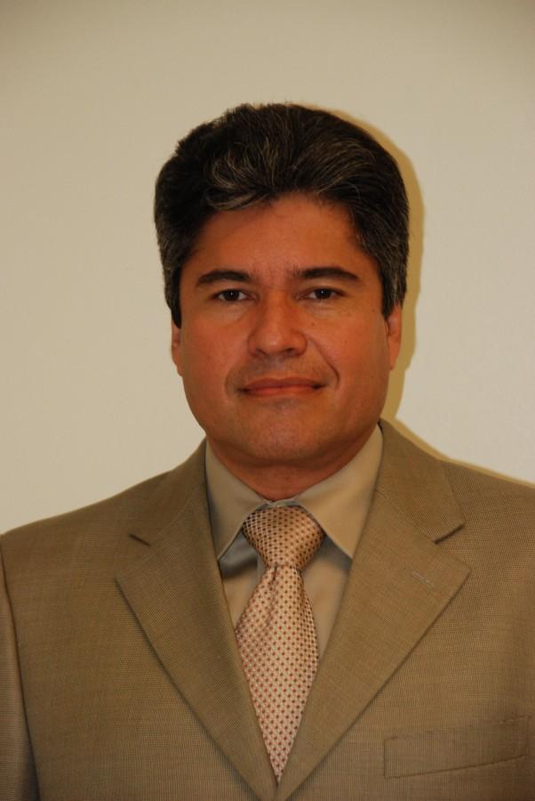 Trinity teacher Mr. Jorge Serrano