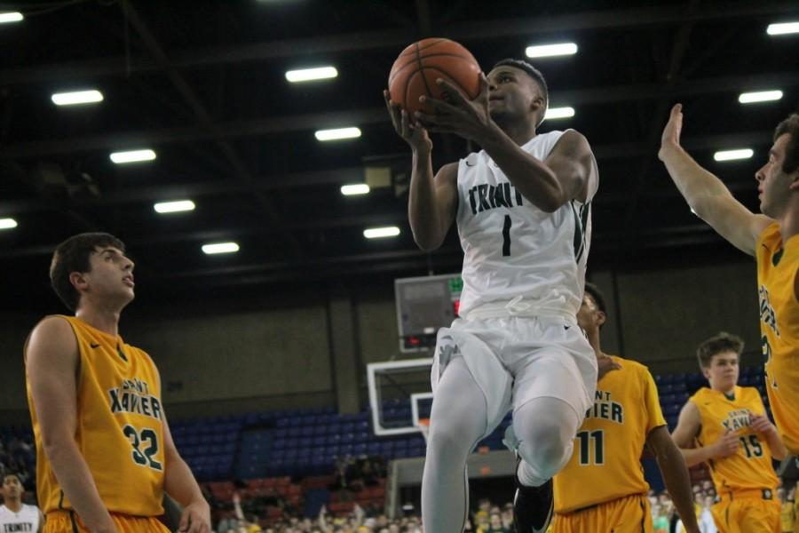 Senior D'Angelo West is one of the leaders of the top-ranked Shamrocks.
