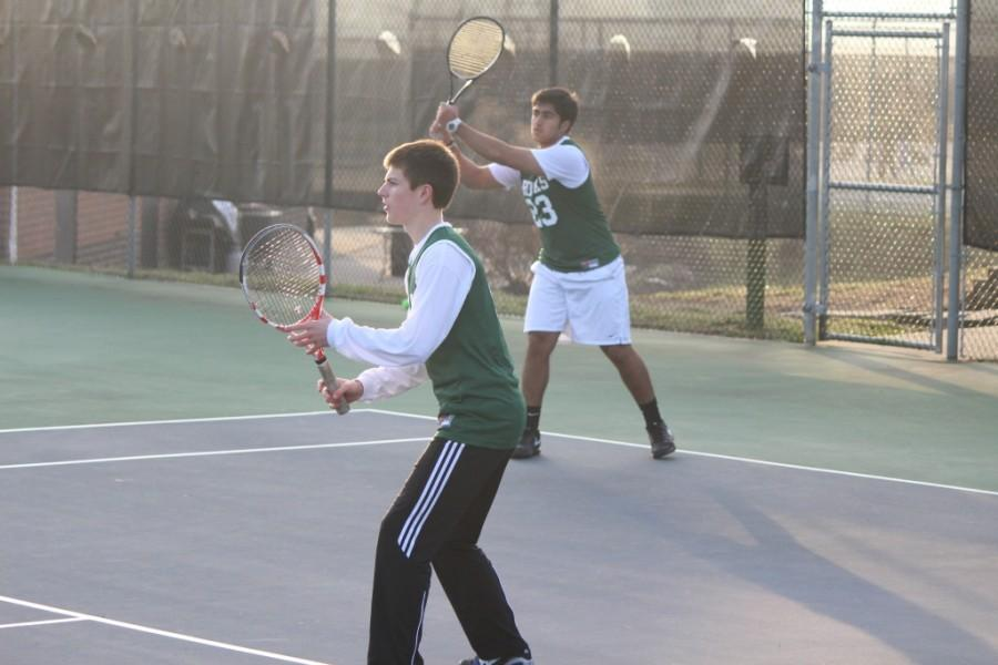 Trinity doubles team Austin Strause and Mustafa Gardezi