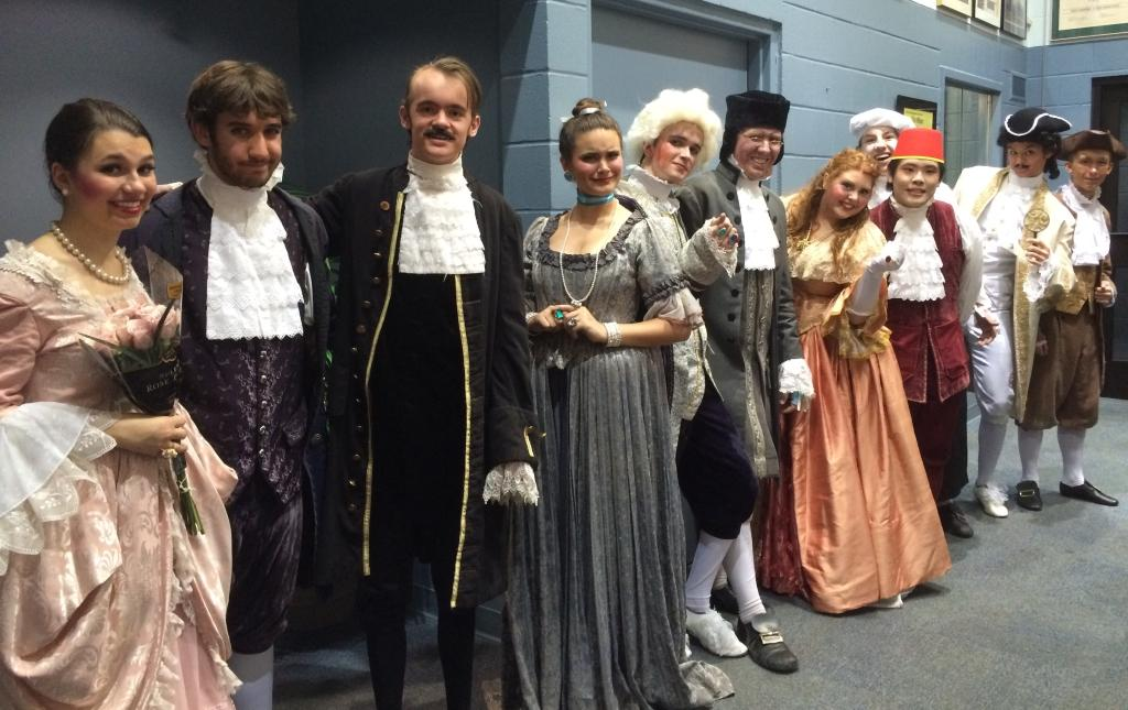 Trinity's Department of Theatre Arts presented Moliere's