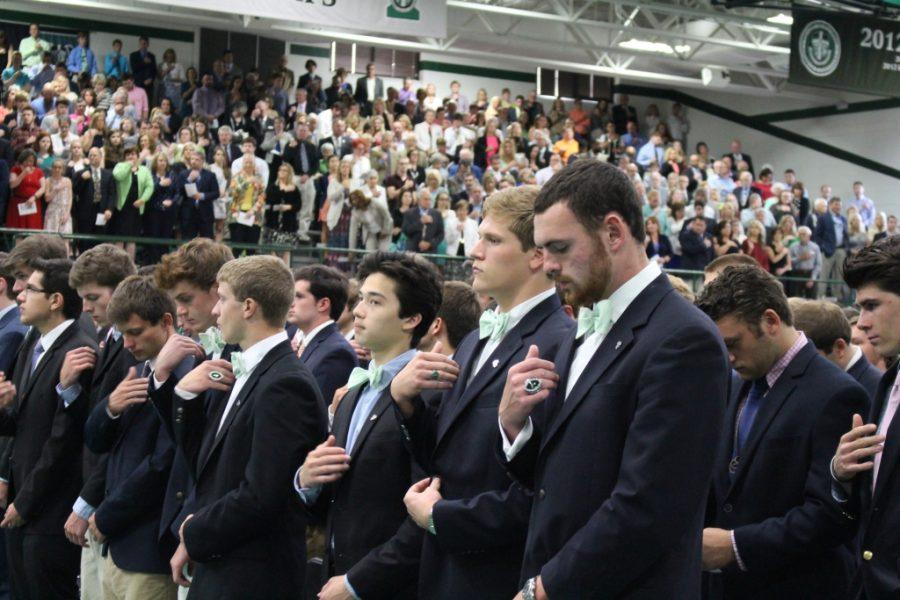 Trinity%27s+60th+annual+Baccalaureate+Mass+was+held+May+21+in+Steinhauser+Gym.+