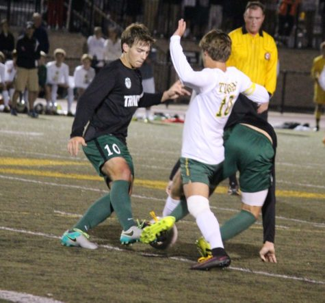 It's SEVEN in a row as soccer Rocks defeat the Tigers 2-1