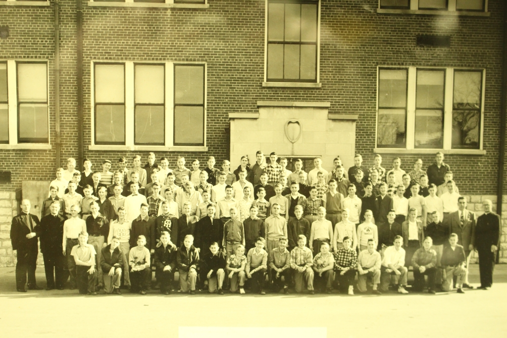 Trinity High School's first class -- 1953-54.