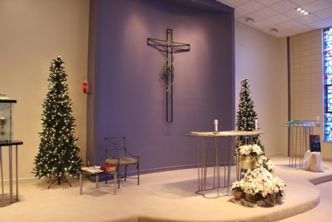 Adorned with Christmas Touches, Trinity Chapel a Center of Faith