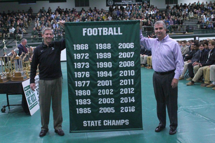 Champion Football Rocks Lauded at Assembly
