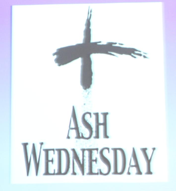 The+distribution+of+ashes+today+marked+the+beginning+of+Lent.+
