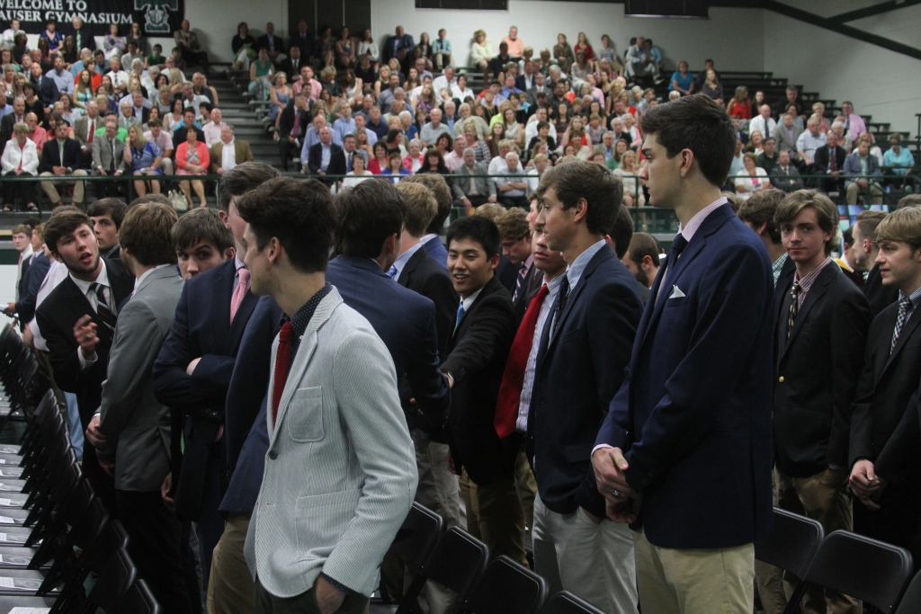 The+Class+of+2017+celebrated+Mass+together+May+20+and+graduated+at+Bellarmine+University+on+May+21.