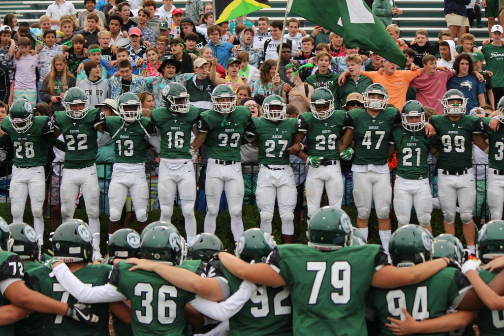 Visitors and fans at Trinity's game this Friday, Sept. 15, against Champagnat Catholic High School (FL) are asked to make monetary donations as they enter the stadium.