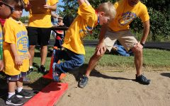 Olympian Service by Rocks at 40th Bill Roby Games