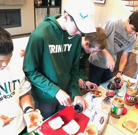 One Sandwich at a Time, Biddle Siblings' Initiative Helps Feed the Homeless