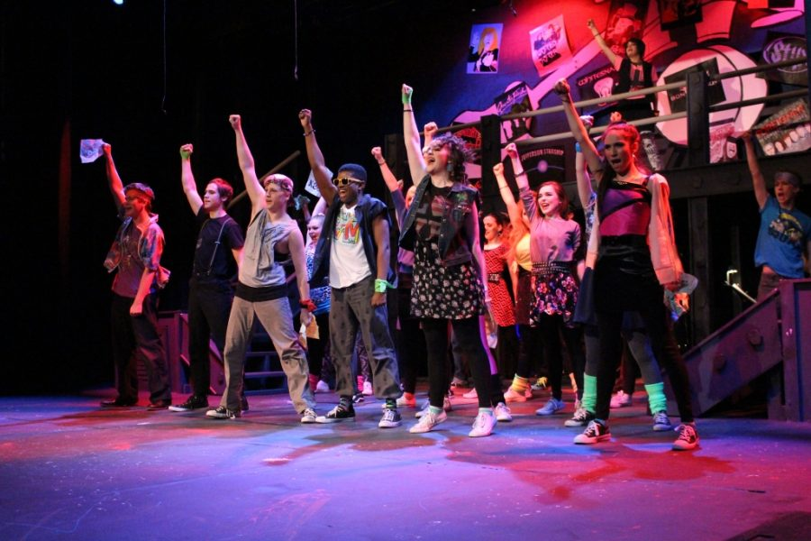Trinity%27s+Department+of+Theatre+Arts+received+rave+reviews+for+their+spring+musical%2C+%22Rock+of+Ages+--+High+School+Edition.%22++