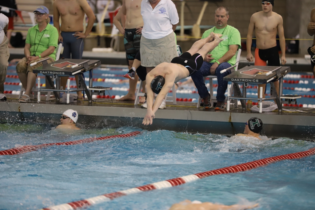 The Rocks swimming and diving team won Region 5 and placed fourth in the state.