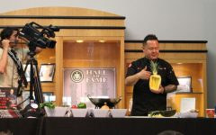 Renowned Chef Demonstrates Skills at Trinity