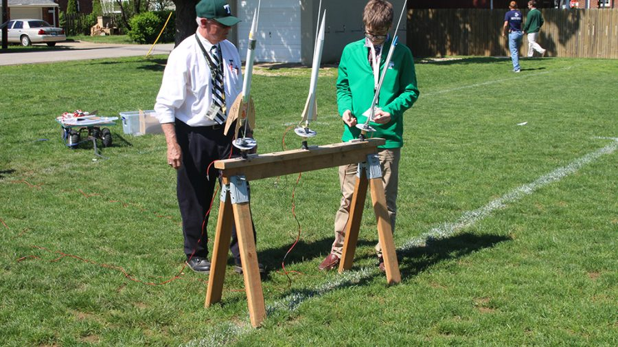 Mr.+Larry+Winegarden%27s+aerospace+classes+launched+rockets+they+designed+and+built.+