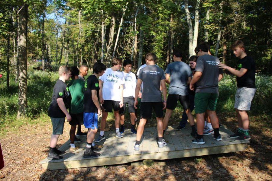The+Class+of+2021+took+part+in+a+retreat+at+Cedar+Ridge+Camp.