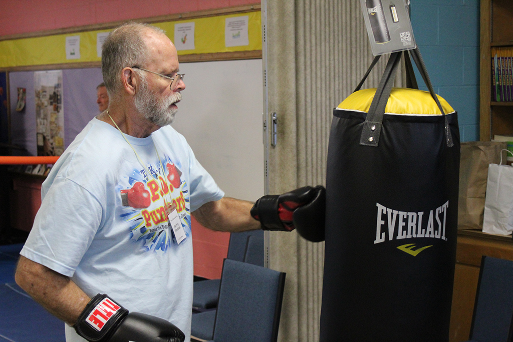 Rock Steady Boxing provides techniques for decreasing and reversing the debilitating effects of Parkinson's disease.