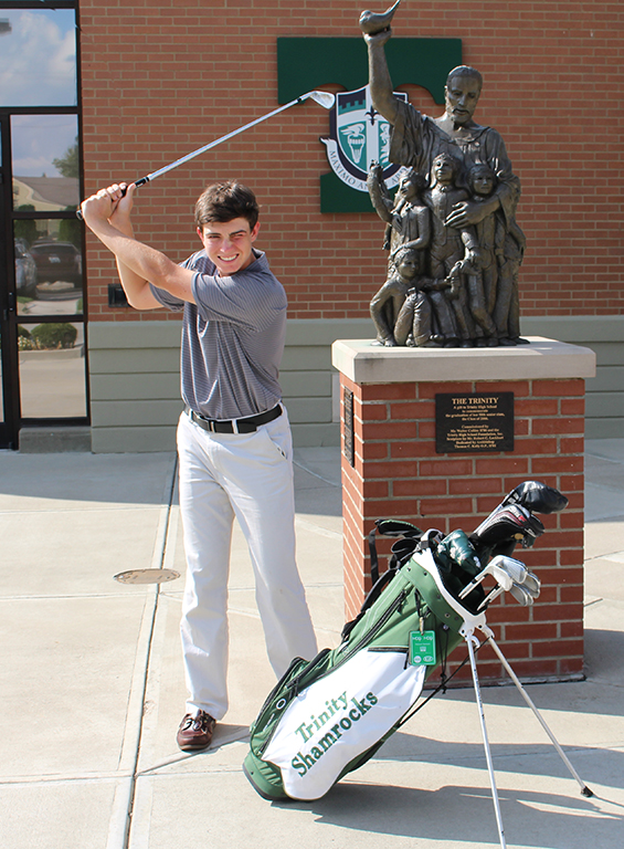 Trinity+junior%C2%A0JM+Butler%C2%A0captured+the+KHSAA+state+golf+individual+championship+on+Saturday+in+Bowling+Green+with+a+score+of+5+under+par