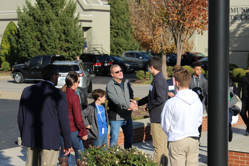 The Rocks welcomed more than 1,200 guests to campus Sunday, Nov. 11, during Open House.