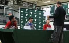 Rocks Sign Letters of Intent in Three Sports