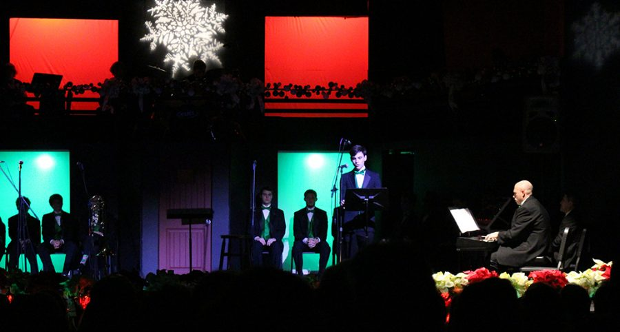 The+Trinity+Chorus+and+Jazz+Band+performed+Christmas+music+Dec.+14+and+16.+
