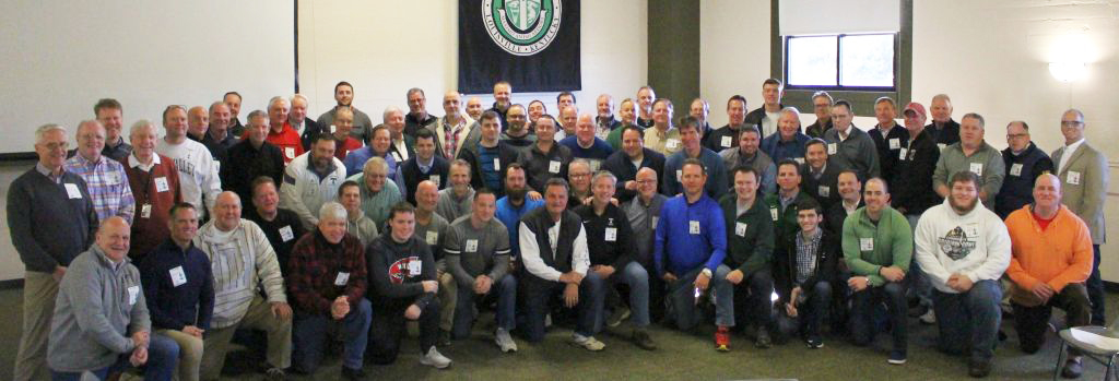 Seventy alums gathered on campus for a retreat.