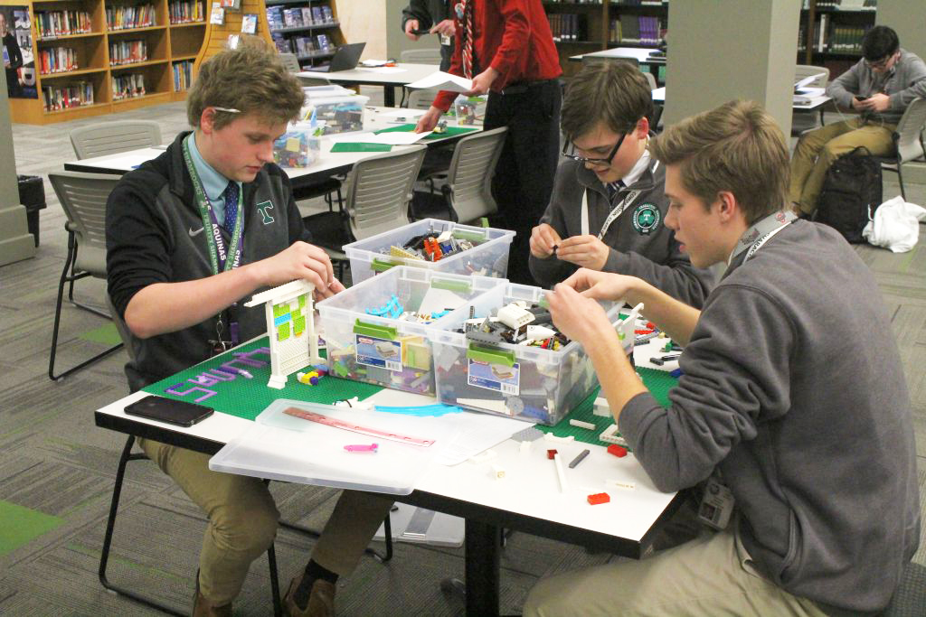 Becket House finished first in the House Makerspace Challenge. Toussaint and Aquinas finished second and third, respectively.
