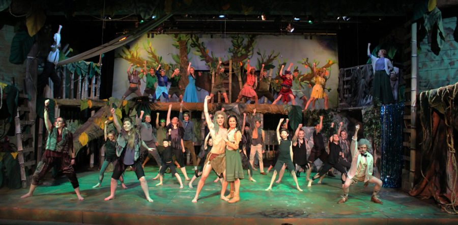 The+Department+of+Theatre+Arts+musical+%22Tarzan%22+captivated+audiences+in+Trinity+Auditorium.+
