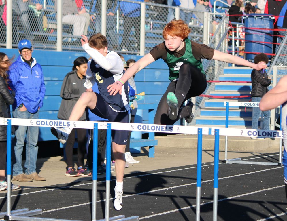 The track and field Rocks won the Oldham County Kickoff Classic Mar. 22.