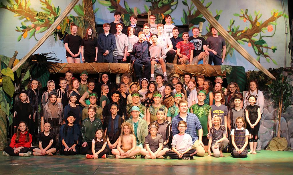 Trinity's production of 'Tarzan' opens Mar. 13 at 7 p.m.