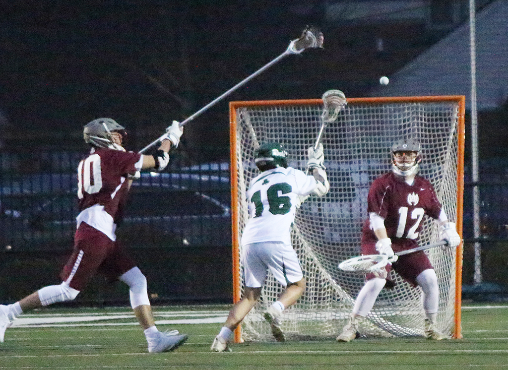 The+lacrosse+Rocks+took+on+Tennessee%27s+Montgomery+Bell+Academy+early+in+the+season.+They+face+St.+Xavier+in+the+state+title+game+May+17.