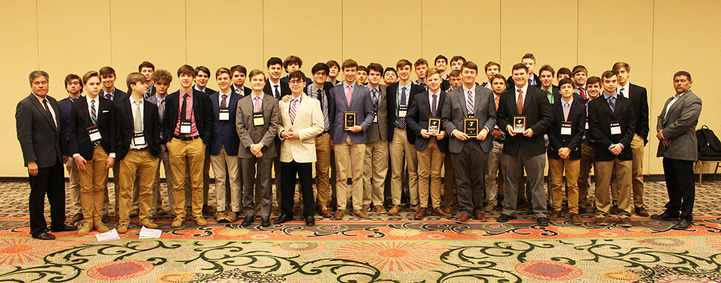 The Rocks won numerous awards at the annual Kentucky United Nations Assembly.