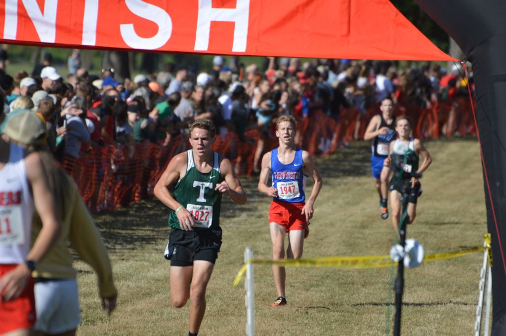 The defending state champion Rocks placed two runners in the top 10 in the Tiger Run.