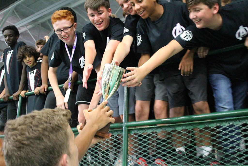 Aquinas House won the  Rockin' Cup!
