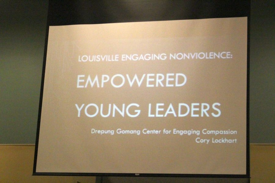 Six+Trinity+seniors+took+part+in+the+Louisville+Engaging+Nonviolence+Symposium+on+Sept.+25.