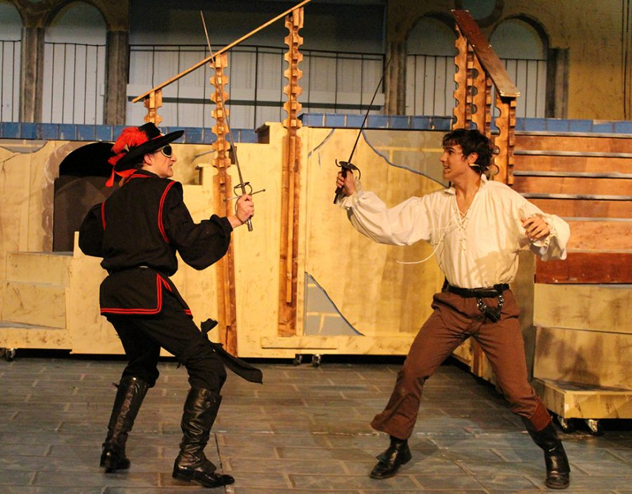 The+Trinity+Department+of+Theatre+Arts+production+of+%22The+Three+Musketeers%22+runs+through+Nov.+9.