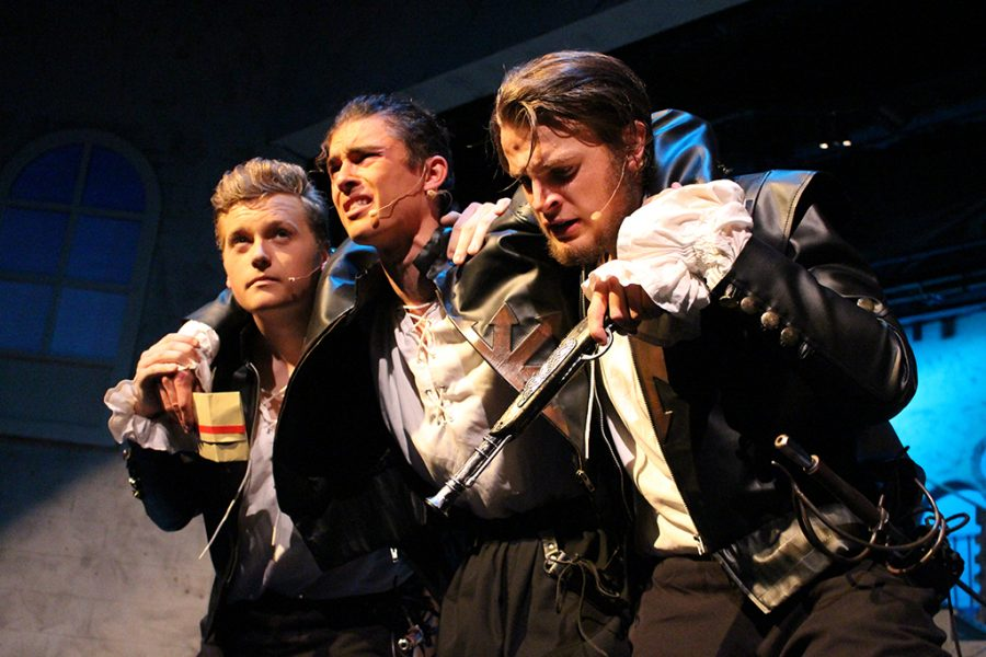 One for All! Trinity's DOTA Brings Dumas' Musketeers to Life