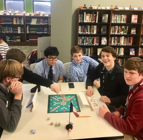 Trinity's Le Français Scrabblers Host Tournament