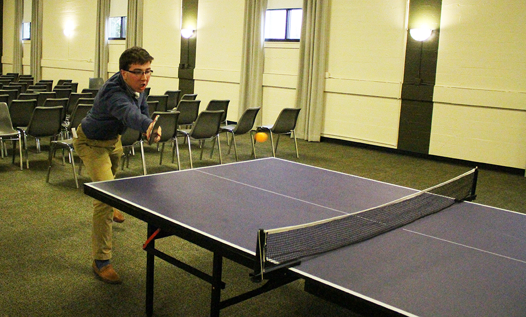Romero's Lee Tops in House Ping Pong Tournament