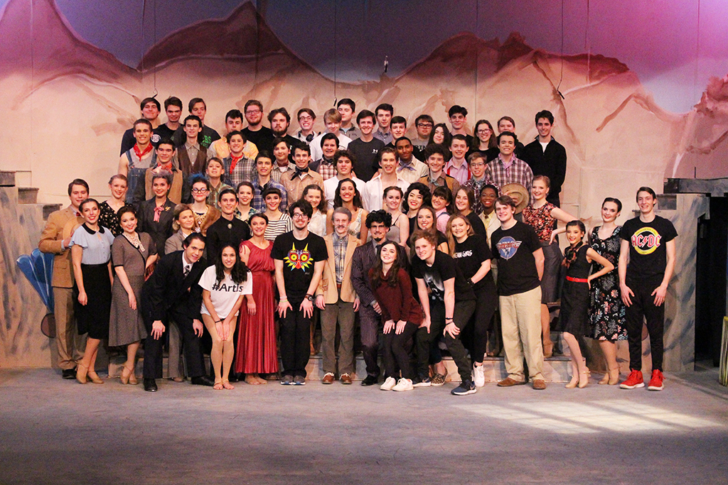 Trinity's 'Crazy for You' Opens Mar. 11
