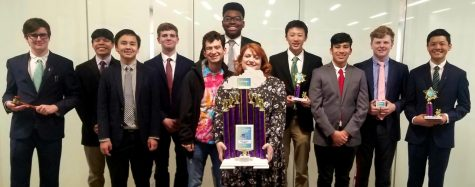 A Dominant Three-Peat for District Champion Academic Team