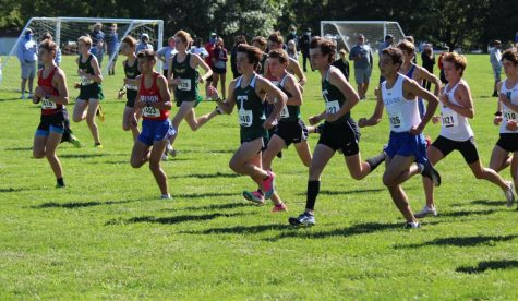 The Rocks placed fifth in the annual Trinity Invitational, with senior Ryan O