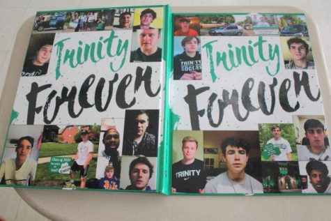 The 2020 Trinity yearbook, the Shamrock, has arrived!