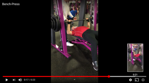 At 60 years of age, Dr. Aaron Striegel benches 300 pounds.