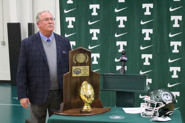 After+21+years+at+the+helm+of+Trinity+Shamrocks+football%2C+head+coach+Bob+Beatty+announced+his+retirement+today..